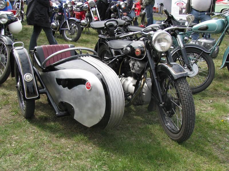 motorrad awo 425 mit stoye seitenwagen beim ostfahrzeug treffen finowfurt. Black Bedroom Furniture Sets. Home Design Ideas
