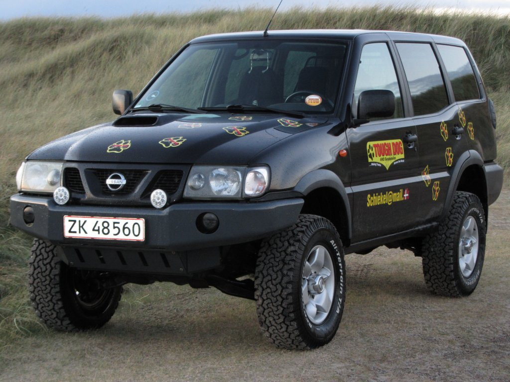 Nissan Terrano Off Road Ability