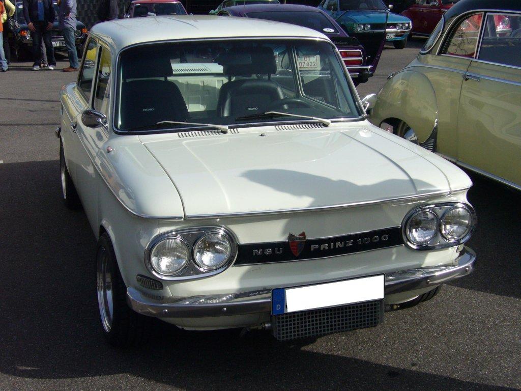 NSU Prinz 1000.