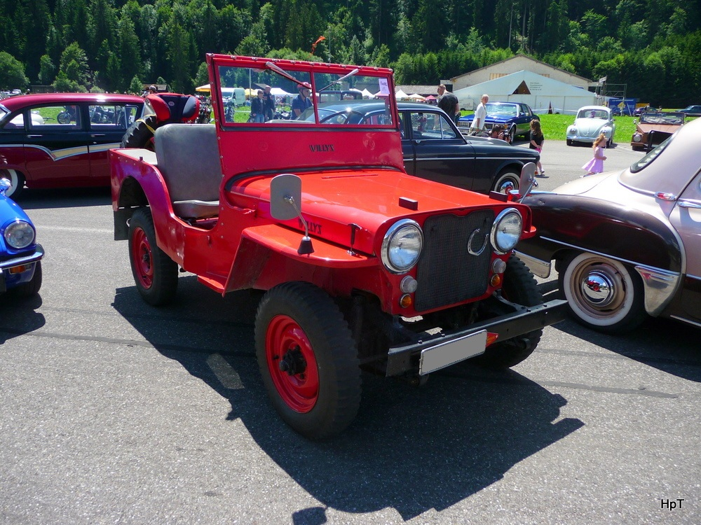 Oldtimer Willy Jeep in St.Stephan am 02.07.2011
