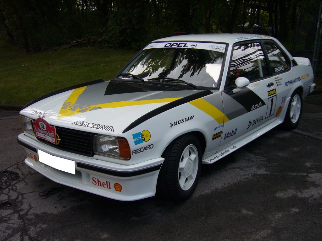 1979 Opel Ascona 400 Related Infomationspecifications Weili Vacuum Diagram 1981 Der War Ein