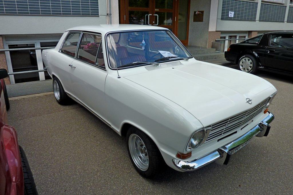 Opel kadett b baujahr 1970 60ps aus 1187ccm oldtimertreffen hausen