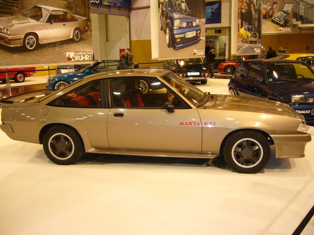 3.12.2010 Opel Manta B GSI.