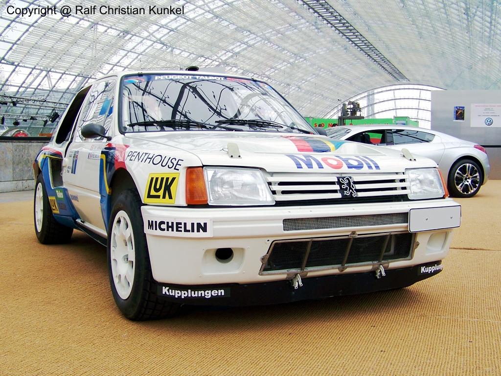 peugeot 205 turbo 16 world rallye car baujahr 1986 techn daten hubraum cm leistung. Black Bedroom Furniture Sets. Home Design Ideas