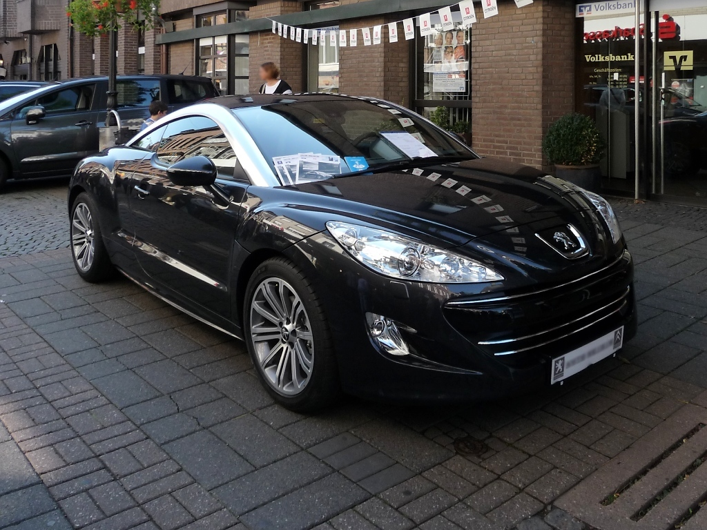 geile felgen eines peugeot rcz in heidelberg am. Black Bedroom Furniture Sets. Home Design Ideas