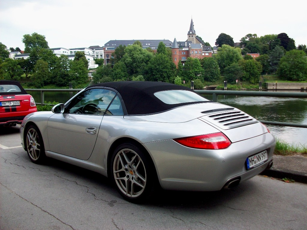 porsche 911 carrera cabrio in essen kettwig 01 08 10. Black Bedroom Furniture Sets. Home Design Ideas