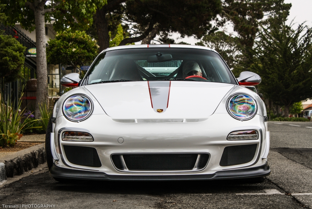 Porsche GT3RS 4.0 am 15.8.2012 in Carmel by the Sea