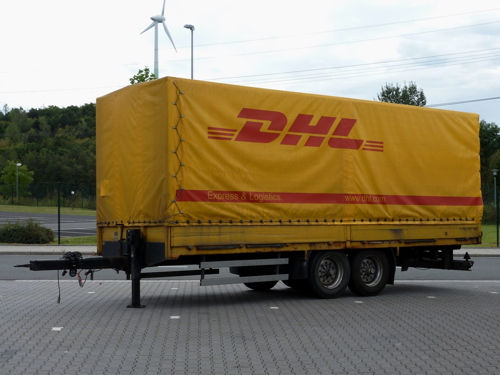 tandem anh nger mit dhl express logistics pritscheplane in herten. Black Bedroom Furniture Sets. Home Design Ideas