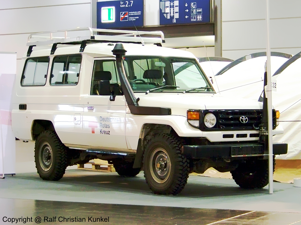 Toyota Land Cruiser Des Deutschen on Vintage Toyota Land Cruiser