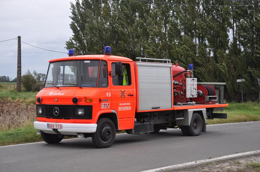 Trockenl schfahrzeug mercedes benz l608d aufbau rosenbauer for Mercedes benz belgium