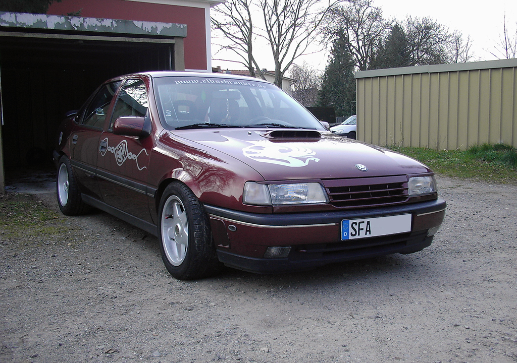 Unser anderer. Opel Vectra A CD Diamant Bj.1992 (20.05.2009)