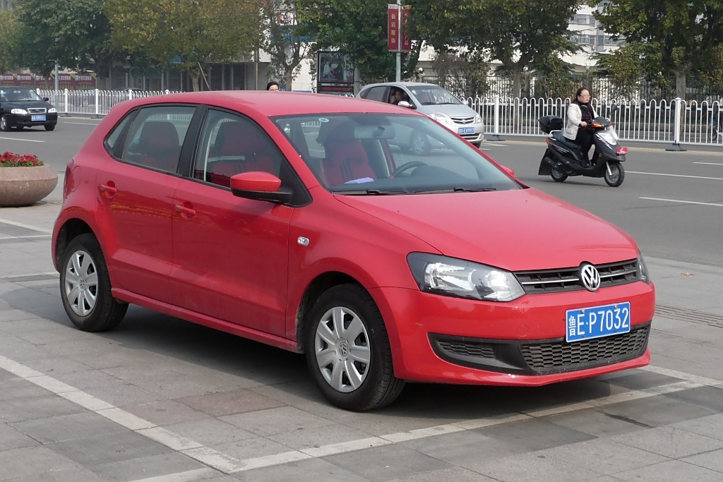 VW Polo in Shouguang, 30.10.11