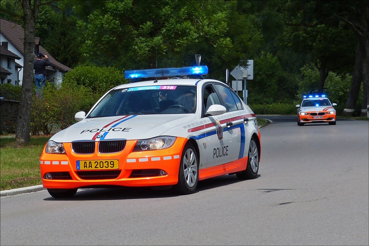 polizei luxemburg tesla