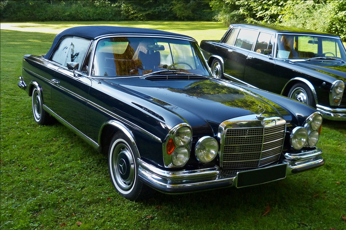 Diesen oldtimer von mercedes benz 280 se habe ich bei for Mercedes benz luxembourg