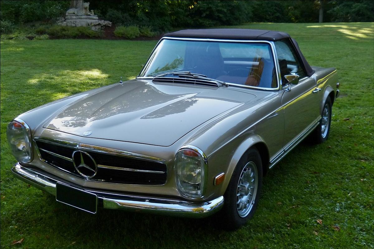 Mercedes benz 280 sl war zu den classic days in mondorf for Mercedes benz wayne nj