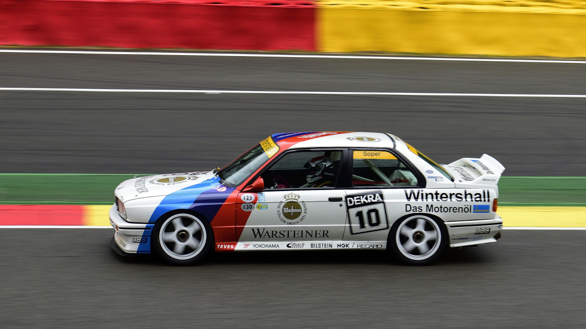 #10, BMW M3 E30, Bj. 1989, 2500ccm, Historic Motor Racing  News U2TC & Historic Touring Car Challenge with Tony Dron Trophy zu Gast bei den Spa Six Hours Classic vom 27 - 29 September 2019