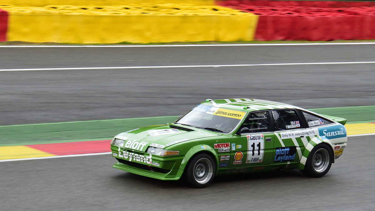 #11, Rover SD1, Bj.1981, 3528ccm, Historic Motor Racing  News U2TC & Historic Touring Car Challenge with Tony Dron Trophy zu Gast bei den Spa Six Hours Classic vom 27 - 29 September 2019