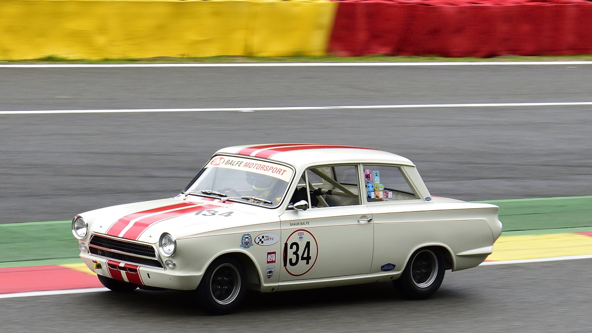 #134, FORD Lotus Cortina, Historic Motor Racing News U2TC & Historic Touring Car Challenge with Tony Dron Trophy zu Gast bei den Spa Six Hours Classic vom 27 - 29 September 2019