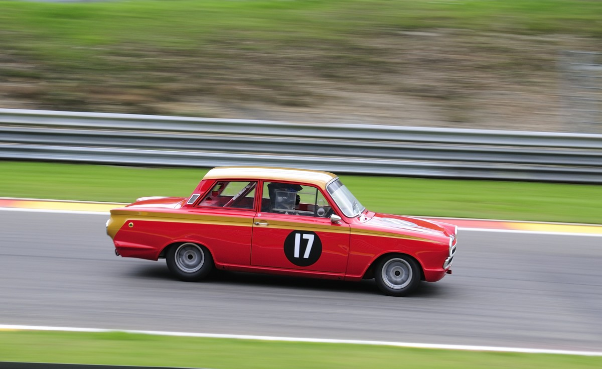 17 FORD Lotus Cortina Mk 1, Bj.1965, Fahrer: HENDERSON Gavin (GB)&