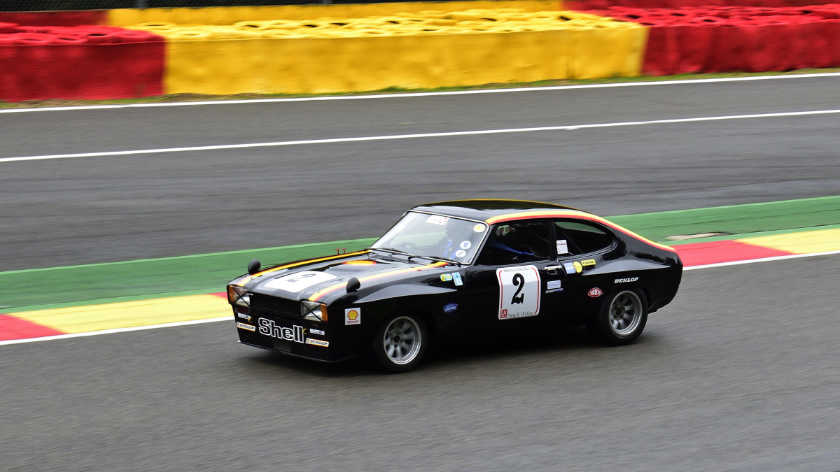 #2, Ford Capri, Historic Motor Racing  News U2TC & Historic Touring Car Challenge with Tony Dron Trophy zu Gast bei den Spa Six Hours Classic vom 27 - 29 September 2019