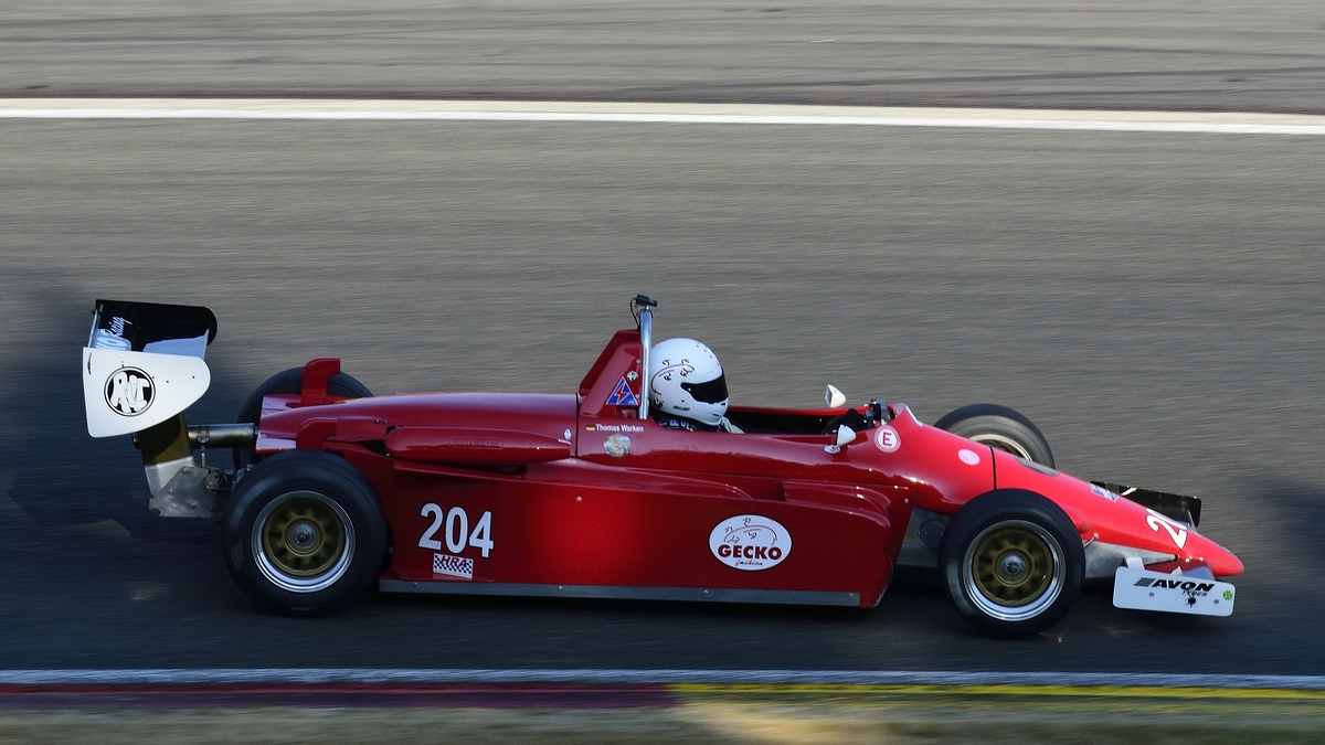 204 Thomas Warken im Ralt RT3/84 Alfa, AvD Historic Race Cup beim Youngtimer Festival in Spa Francorchamps am 15.07.2018