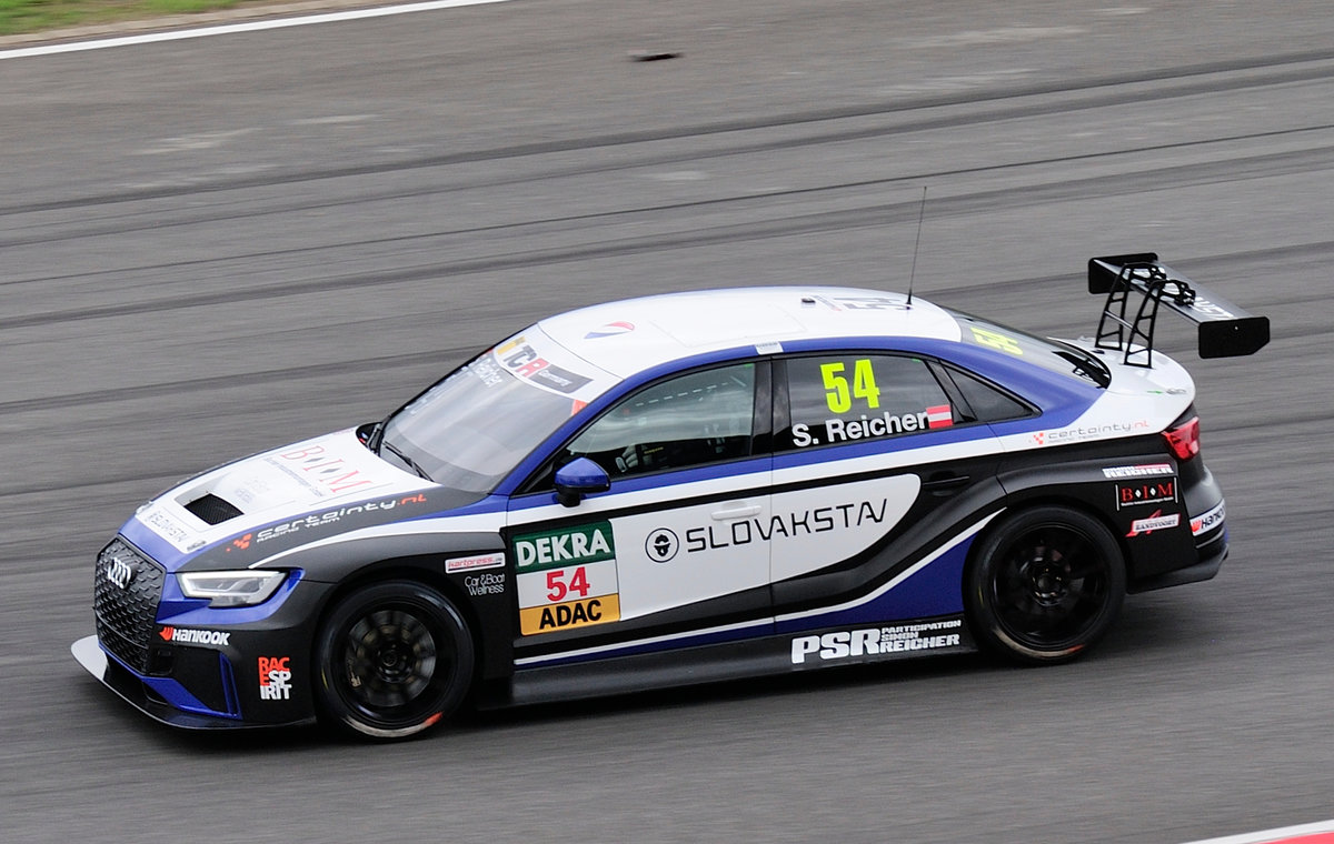 #54 Audi RS3 LMS, Certainty Racing Team, Fahrer: Simon Reicher, ADAC TCR Germany, im Rahmenprogramm des ADAC GT-Masters Nürburgring am 5.8.2017
