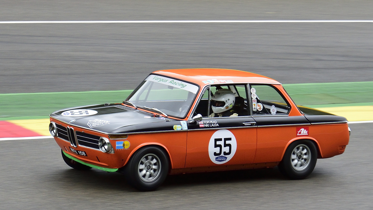 #55, BMW 1600Ti, Historic Motor Racing News U2TC & Historic Touring Car Challenge with Tony Dron Trophy zu Gast bei den Spa Six Hours Classic vom 27 - 29 September 2019