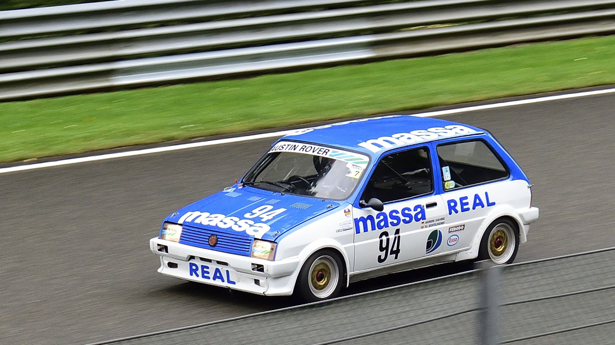 #94, MG Metro Turbo, Historic Motor Racing News U2TC & Historic Touring Car Challenge with Tony Dron Trophy zu Gast bei den Spa Six Hours Classic vom 27 - 29 September 2019