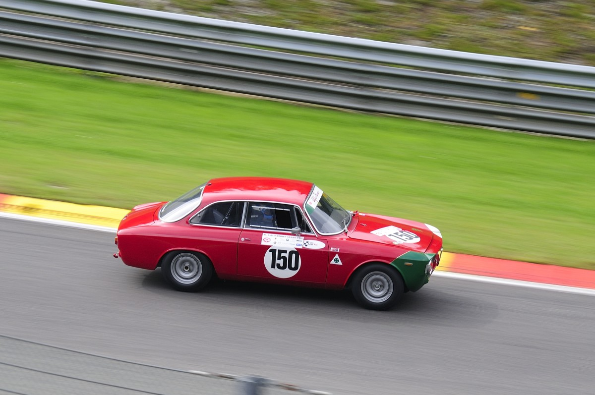 ALFA ROMEO Giulia Sprint GTA, Historic Motor Racing News U2TC Rennen, Mitzieher beim 6h Spa Classic am 19.September