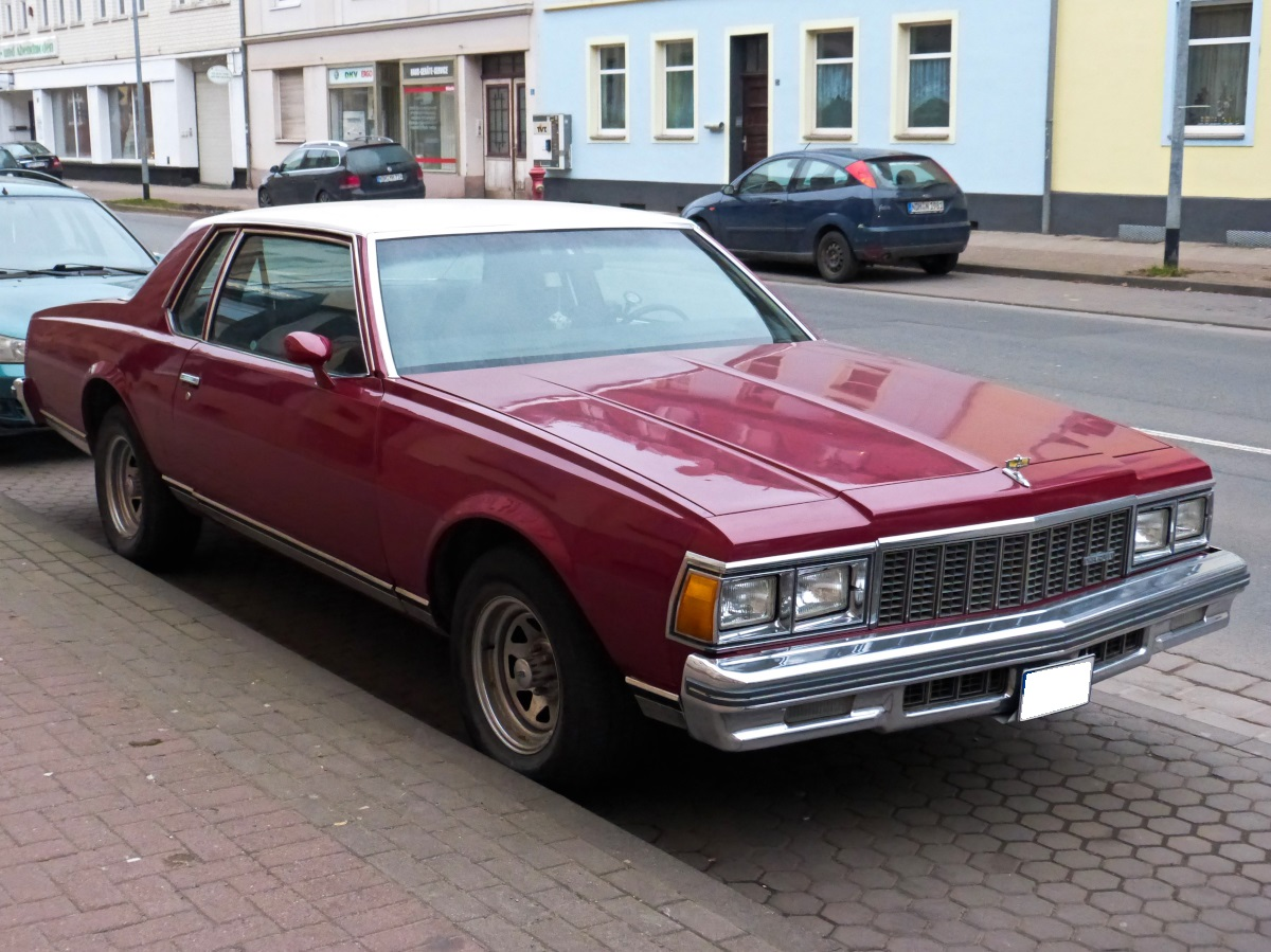 Altes Chevrolet Caprice  Coupe Nordhausen 12.03.2016