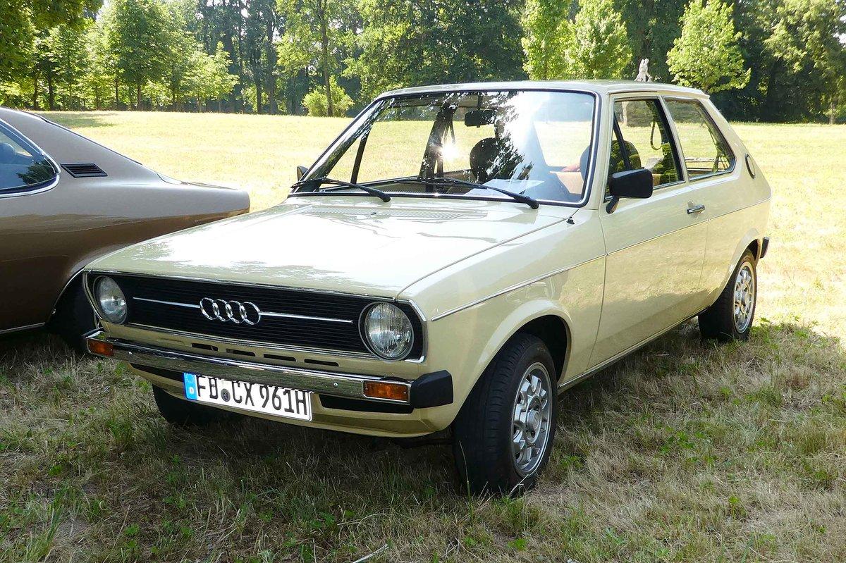 Audi 50. 1974 - 1978. Der Audi 50 war in den Varianten LS ...