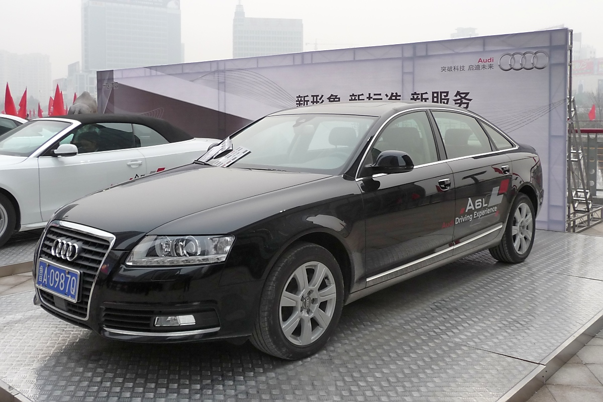 Audi A6 L (verlängerter Radstand) in Weifang, China, 27.11.11