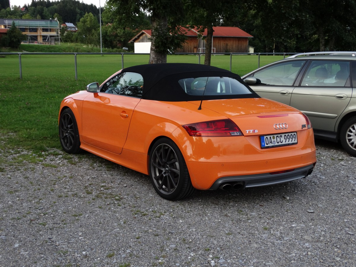 audi tt rs abt am bei mosbach allg u. Black Bedroom Furniture Sets. Home Design Ideas