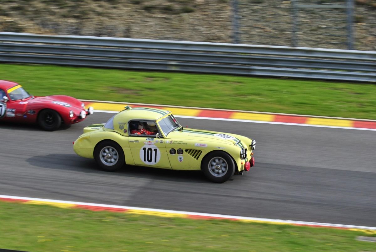 Austin Healey 3000, beim Spa Classic. Six Hours Endurance.