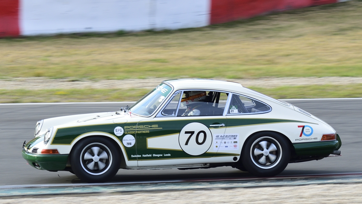 Bell Derek, GB im Porsche 911, 46. AvD-Oldtimer-Grand-Prix 2018, Qualifying der Tourenwagen Classics am 11.Aug.2018