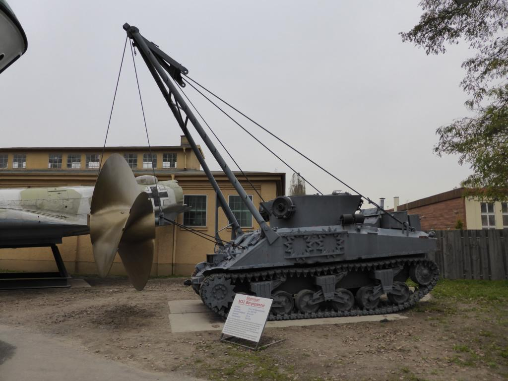 Bergepanzer M32 im Technikmuseum Speyer am 01.11.2013