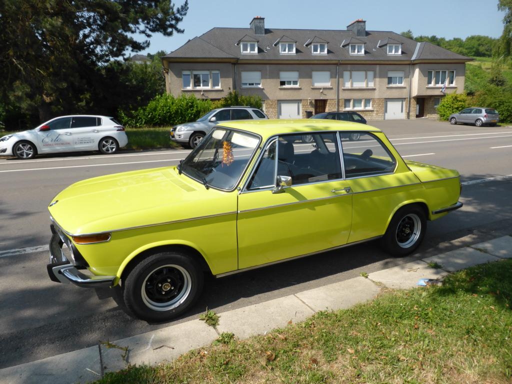 BMW 1802 am 05.07.2015 in Stadtbredimus (Lux.)