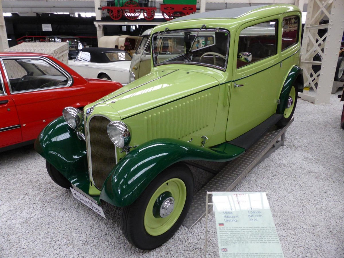 BMW 309 im Technikmuseum Speyer am 02.11.2015
