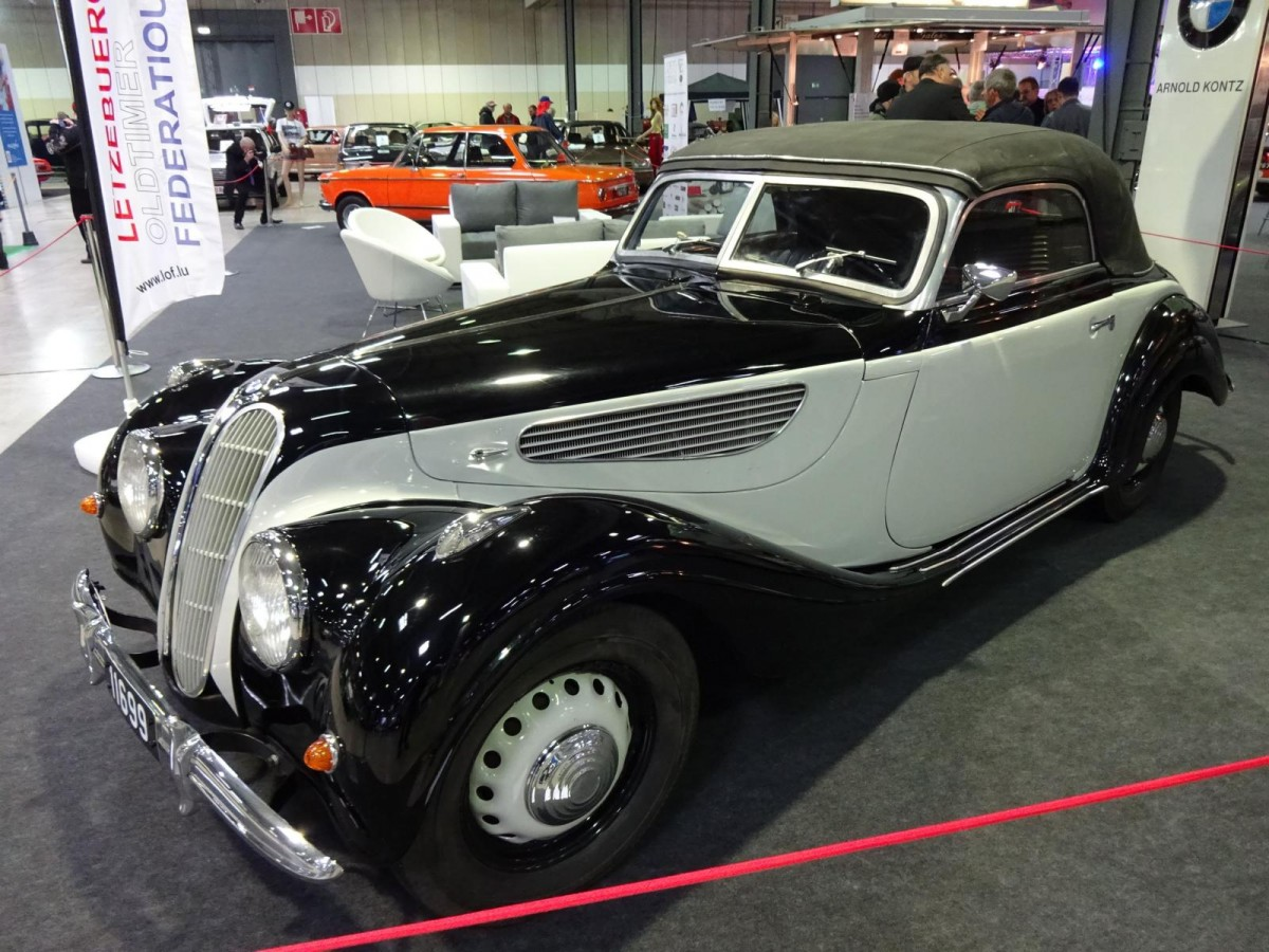 BMW 327 beim Autojumble 2016 in Luxembourg