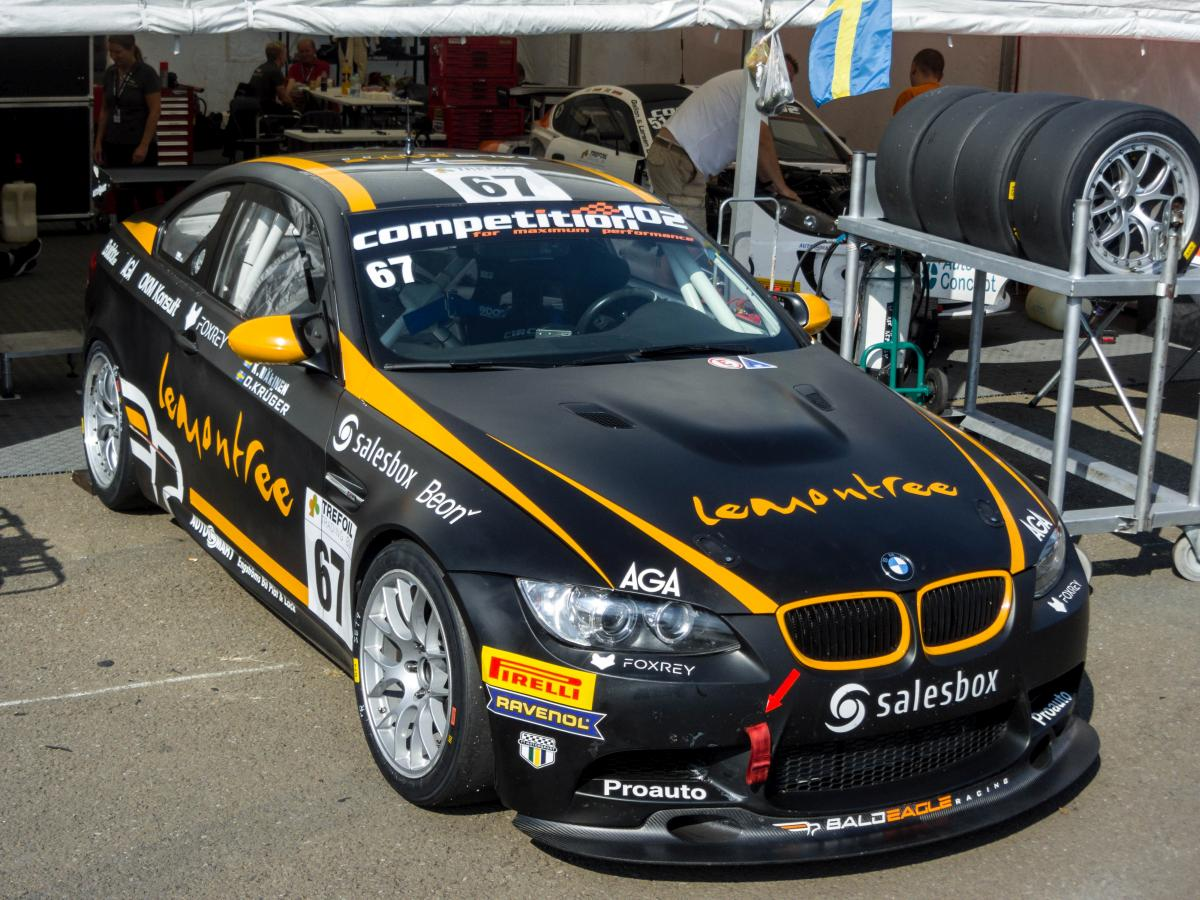 BMW M3 Coupé GT4 der  Bald Eagle Racing Team  in der Serie Competition 102. Foto: 24.09.2016, Hungaroring.