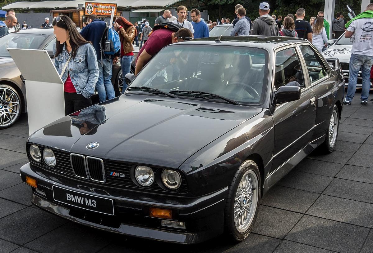 BMW M3 E30,  Der Legende , fotografiert am 24.09.2016.