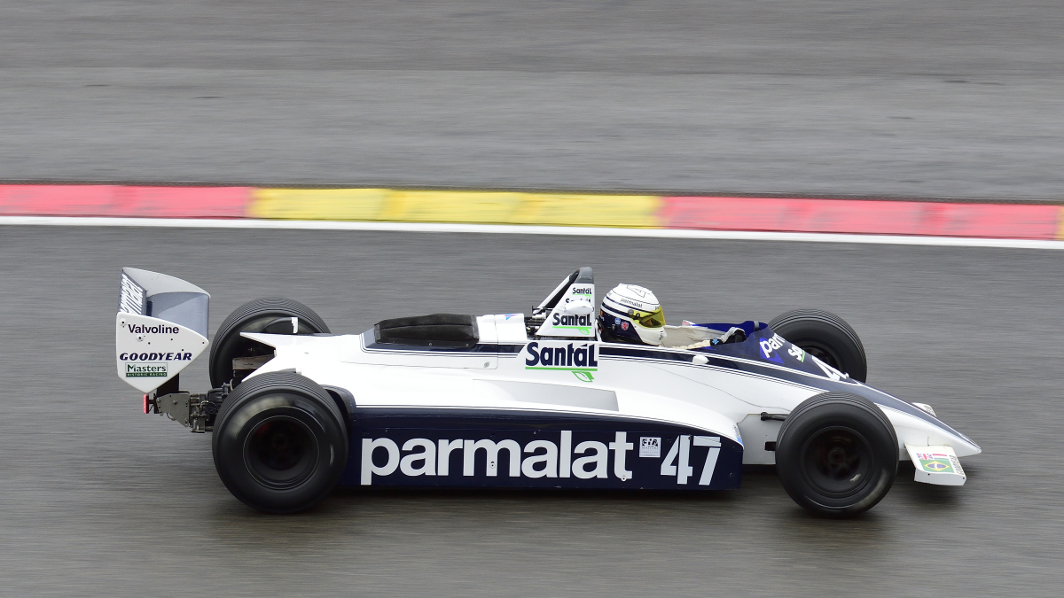 BRABHAM BT49, FIA Masters Historic Formula One Champions, bei den Spa Six Hours Classic vom 27 - 29 September 2019