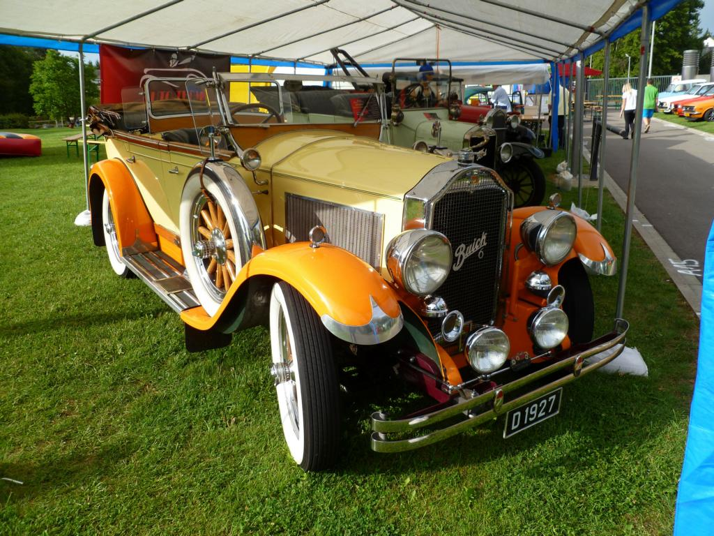 Buick 6, Vintage Cars & Bikes in Steinfort am 03.08.2014