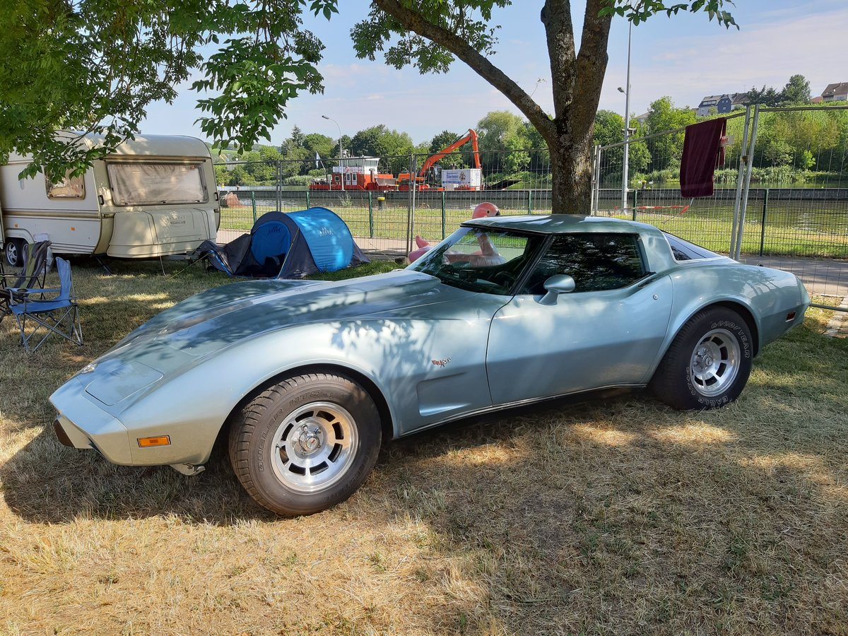 Chevrolet Corvette C3 Stingray auf dem US-Car-Treffen in Stadtbredimus (Lux.) am 06.07.2019