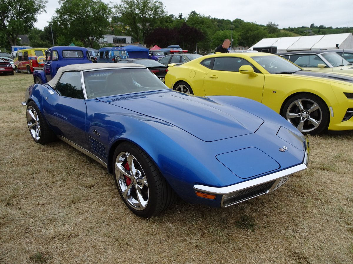 Chevrolet Corvette C3 Stingray auf dem US-Car-Treffen in Stadtbredimus (Lux.) am 07.07.2019