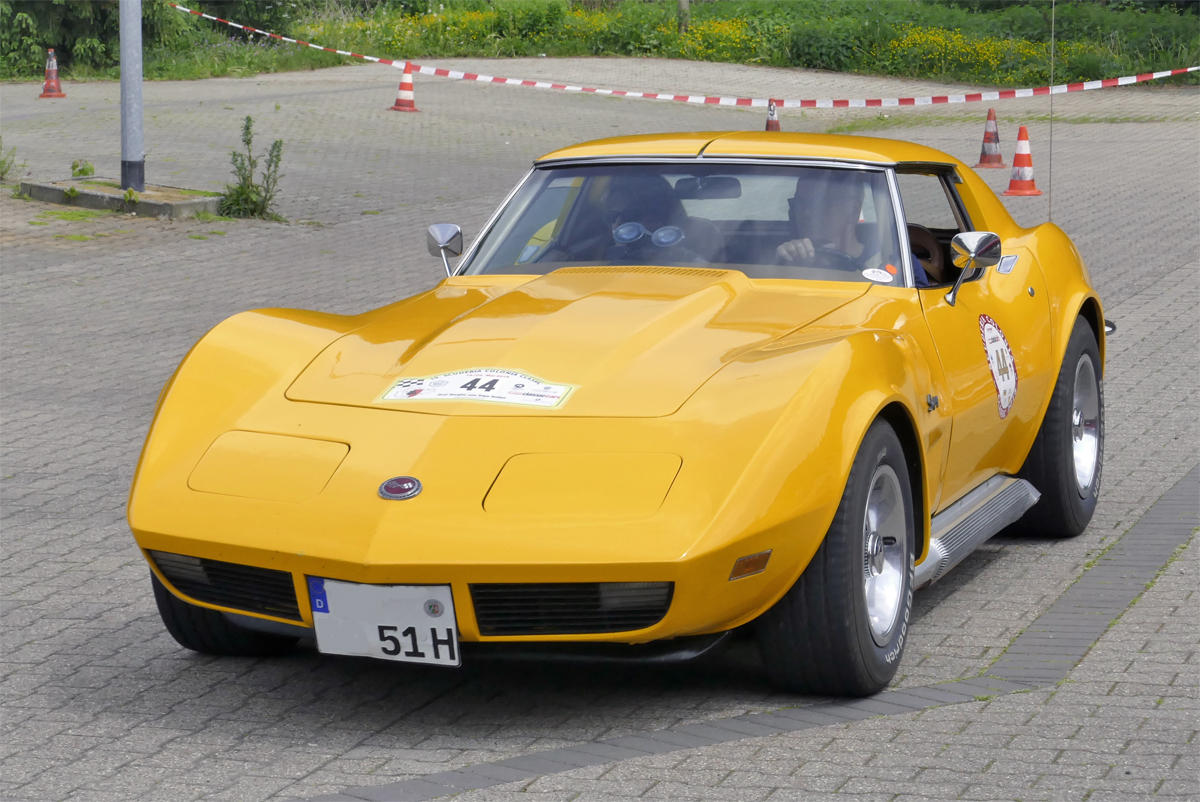 Chevrolet Corvette Stingray bei der 19. Scuderia Colonia Classic in Bad Münstereifel - 19.05.2018