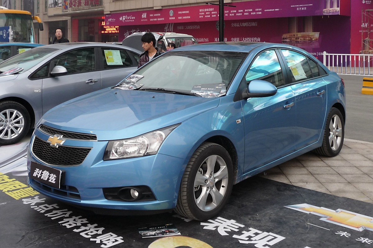 Chevrolet Cruze in Weifang, China, 27.11.11