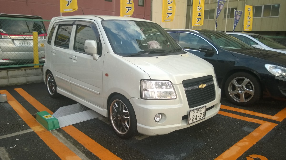 Chevrolet MW in Osaka, Japan (September 2015)