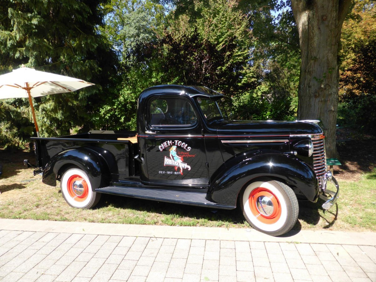 Chevrolet Pick-Up bei den Luxembourg Classic Days in Mondorf am 30.08.2015