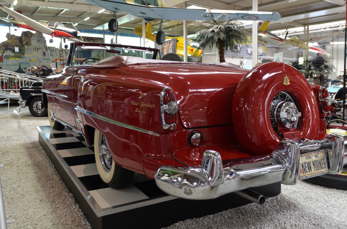 Chrysler New Yorker de Luxe von 1954, 235 PS, Auto & Technik MUSEUM SINSHEIM, 09.09.2014